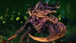 Ultralisk Evolution: Noxious and Torrasque (Starcraft 2: Heart of the Swarm)