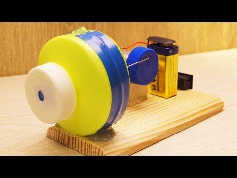 Как сделать простой мини компрессор своими руками
