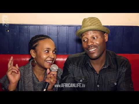 Jeys Marabini @ Roots Music from Southern Africa, 21.11.2013, Reigen, Vienna, Videointerview