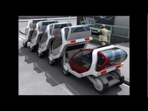 "Fold-Up Car of the Future  -  ""Hiriko"""