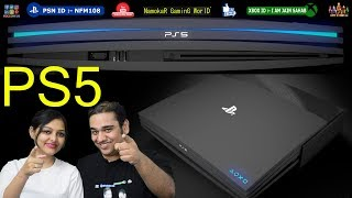 Sony Playstation V : PS5 | All Features in Hindi | Release in 2019 ? |  NamokaR GaminG WorlD / #NGW