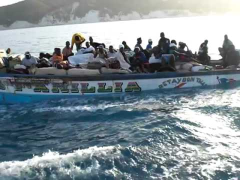 BOAT TRANSPORT IN HAITI