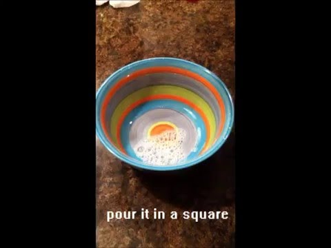 How to pour cereal the cool way