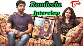 Chit Chat with Havish & Nanditha | Ramleela Interview | Part 02