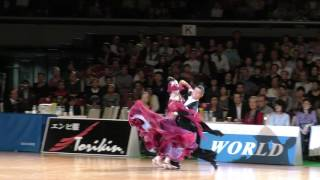 4K 2016 JDSF 三笠宮杯 | 小嶋みなと・盛田めぐみ組優勝 | 決勝ソロQUICKSTEP