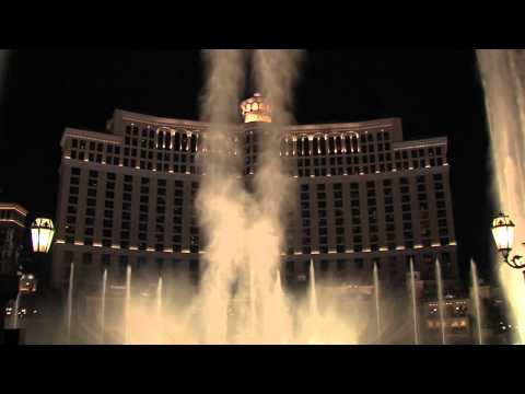 Tiesto Leaves His 'footprints' At The Bellagio Fountains video