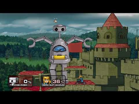 Super Smash Flash 2 v0.9b - All Final Smashes