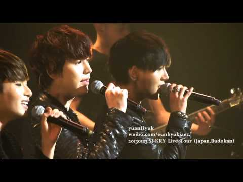[Yesung Focus]130123 Super Junior KRY Special Winter Concert in Budokan D2 - Promise You