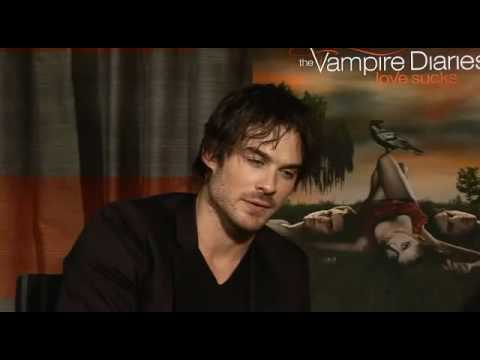 Ian Somerhalder exclusive! - GQ TV - GQ.COM (UK) Video