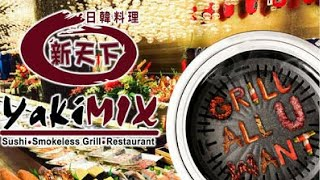 Yakimix SM Dasma Eat All You Can Experience