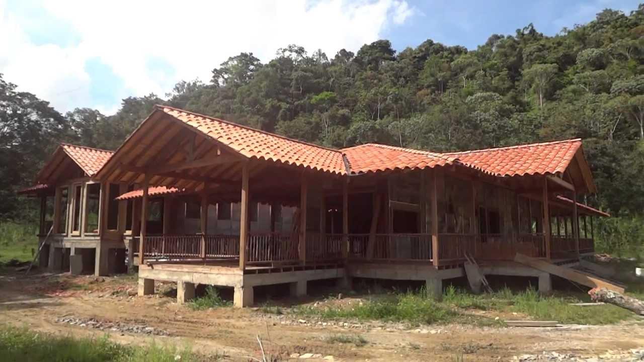 casas prefabricadas en medellin colombia youtube On casas campestres en madera