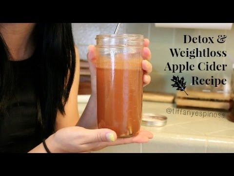 Weightloss and Detox Apple Cider Drink