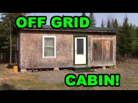 Off Grid Cabin - Wilderness Living