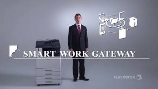 Smart Work Gateway ApeosPort VI - Revolutionising the document process Fuji Xerox
