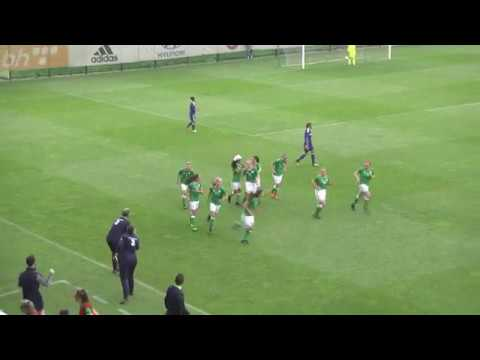 Megan Mackey's late winner for Ireland WU17 against Bosnia & Herzegovina