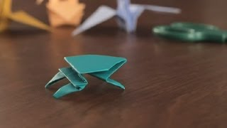 How To Make An Origami Frog : Simple &amp; Fun Origami
