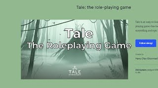 RPG Review - Tale the role-playing game