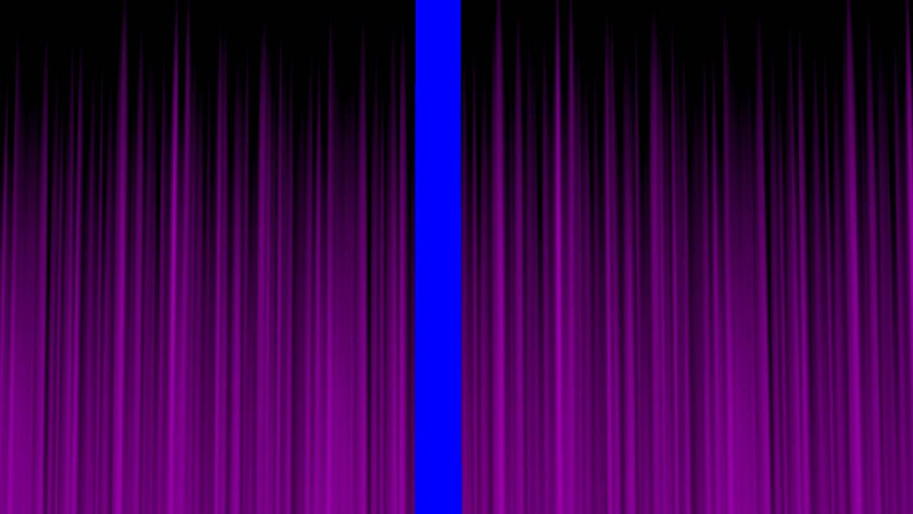 Purple Stage Curtain
