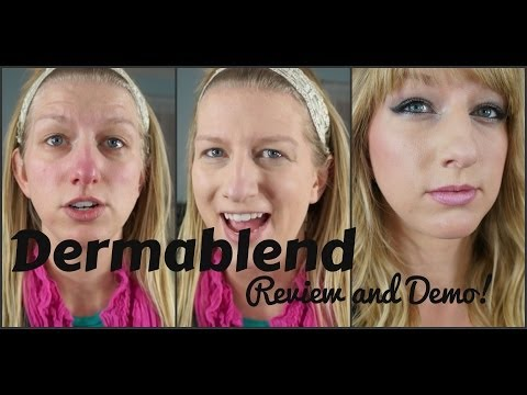 Dermablend Review and Demo   Foundation for Acne and Rosacea