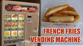 Vending Machine French Fries Review | Japan Exclusive