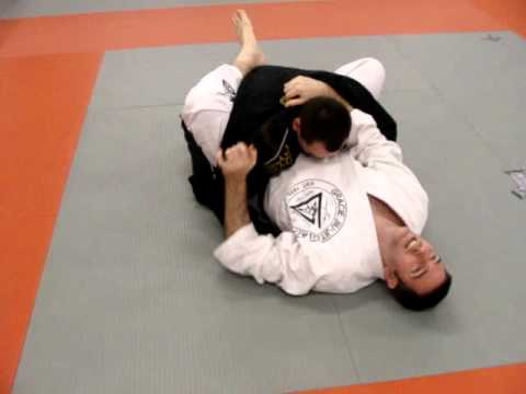 BJJ options from Rubber guard. Image 1