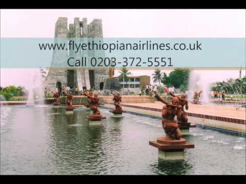 Travel to Accra With Ethiopian Airline