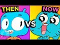 Amazing World Of Gumball - Then Vs Now - Evolution of Gumball (Tooned Up S6 E3) | Channel Frederator