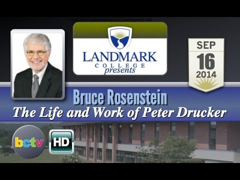 Landmark College presents Bruce Rosenstein 9/16/14