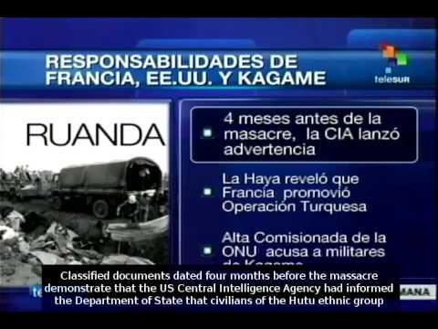France, US and Paul Kagame's responsibilities in Rwandan Genocide