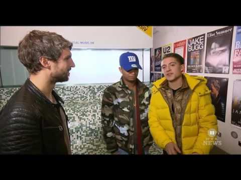 Interview met Lil Kleine & Ronnie Flex bij RTL 2 News