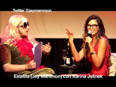 Estelita con Karina Jelinek