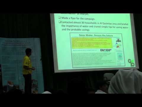 My presentation at  EEG's (Emirates Environment Group) Student's Workshop 16th. Oct 2012