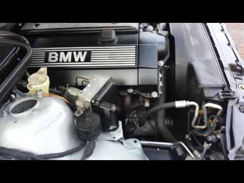 1997 BMW 523 E39 VIDEO REVIEW: ENGINE STARTING AND DRIVING