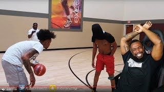 FLIGHT PLAYED DDG BLINDFOLDED WITH 1 HAND 1vs1 BASKETBALL!