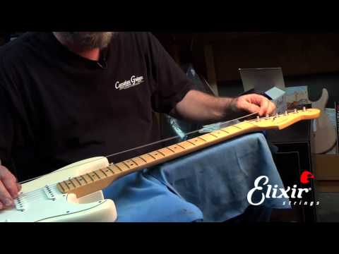 How to restring your Stratocaster with John Carruthers