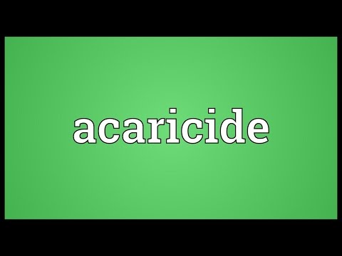 Header of acaricide