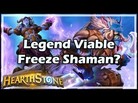 [Hearthstone] Legend Viable Freeze Shaman?