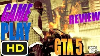 GTA 5 Gameplay XBOX 360, PC, PS3 Grand Theft Auto V Gameplay Walkthrough Mission Part 1 HD