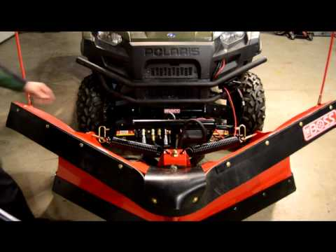 Mounting a Boss Plow SmartHitch2 on the 2011 Polaris Ranger Diesel