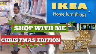 IKEA SHOP WITH ME AND HAUL! CHRISTMAS 2018!! Holiday Decor and Toys