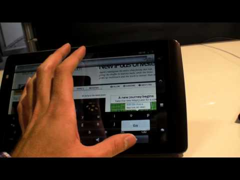 Thumb Archos 101 Internet Tablet, screen of 10.1 inches, Android 2.2 Froyo $299