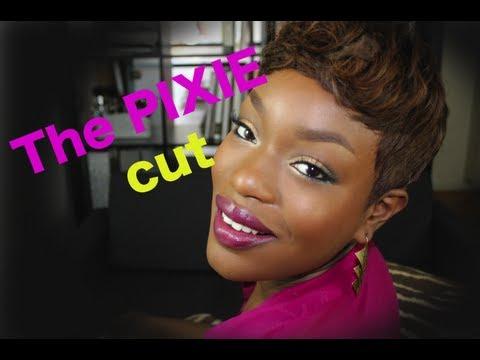 Pixie Cut   My new