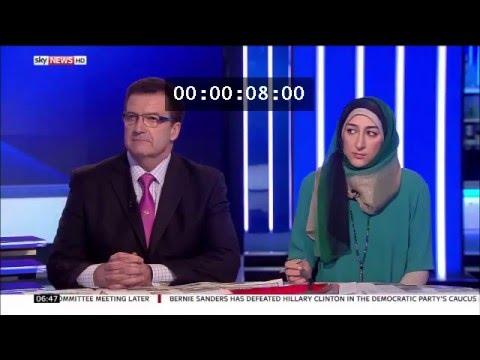 Sky News post Brussels Attacks