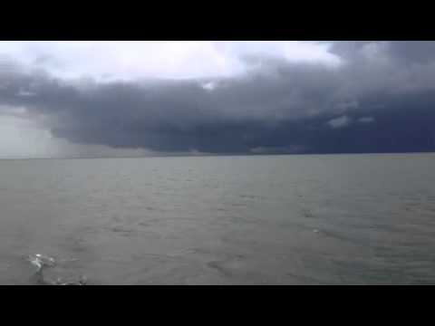 Big squall on Chesapeake Bay May 2013