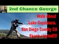 VLOG43 Walk about and a start of a skunk  Lake Cuyamaca, San Diego County CA