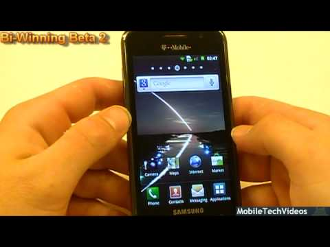 Samsung Vibrant ROM's in a Flash (Bi-Winning Beta 2) *March 28th 2011*