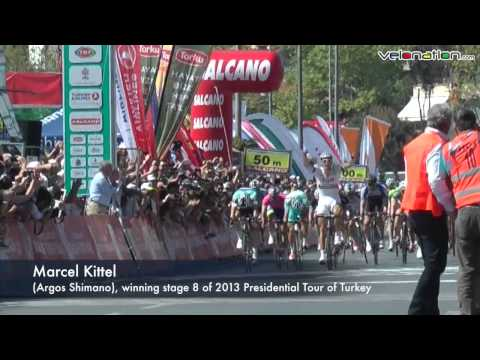 Marcel Kittel wins stage 8 of Tour of Turkey