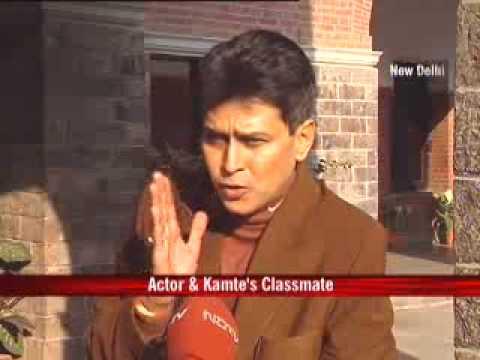 Stephen's honours ex-student Ashok Kamte
