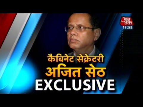 Exclusive interview with Cabinet Secretary Ajit Seth