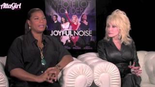 Queen Latifah & Dolly Parton talk marriage, family & music in Joyful Noise